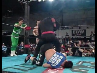 ECW Barely Legal - Dick Togo & TAKA Michinoku & Terry Boy / Gran Hamada ...